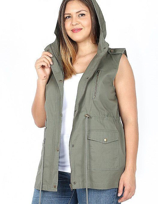 Utility Vest | Curvy | 3 Color Options