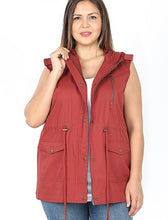 Load image into Gallery viewer, Utility Vest | Curvy | 5 Color Options