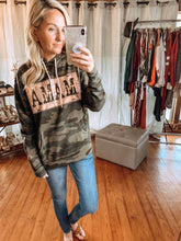 Load image into Gallery viewer, Camouflage Mama Hooded Sweatshirt