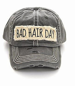 Distressed Style Baseball Hats
