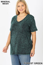 Load image into Gallery viewer, Mineral Wash Tee | Curvy