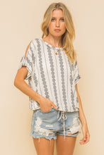 Load image into Gallery viewer, Cold Shoulder Knit Top