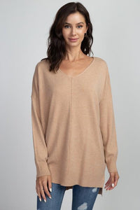 Dreamers V-neck Soft Sweater | 7 Color Options