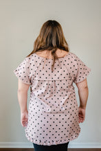 Load image into Gallery viewer, Dusty Rose Polka Dot | Curvy