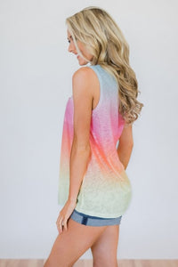 Erin Ombre Tank | S-2X