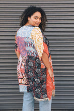 Load image into Gallery viewer, Boho Patchwork Kimono