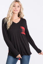 Load image into Gallery viewer, Buffalo Plaid Long Sleeve Tunic | S-3X