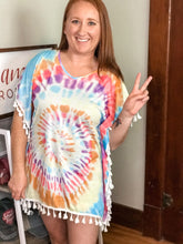 Load image into Gallery viewer, Tie-Dye Coverup