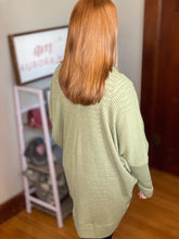 Load image into Gallery viewer, Waffle Knit Cardigan | 2 color options