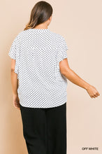 Load image into Gallery viewer, Polka Dot Top | Curvy