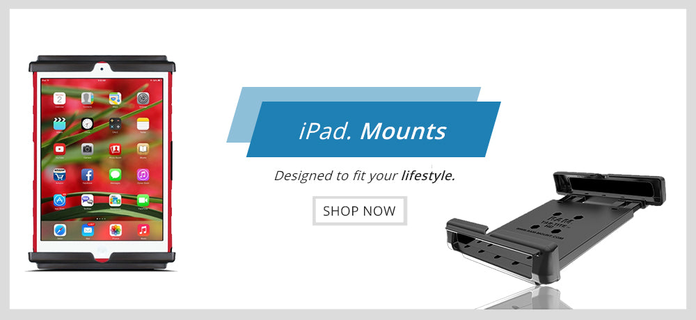 iPad Holder by Mounts Asia Pacific - RAM Mounts Asia Pacific Authorized Reseller