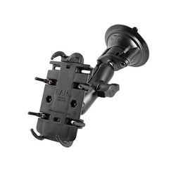 RAM Twist Lock Suction Cup Mount w/ Quick-Grip™ Phone Holder (RAM-B-166-PD3) - Image1