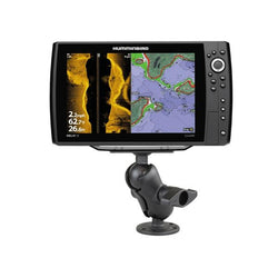 RAM D Size Ball Mount for Humminbird Helix 9 10 & 12 (RAM-D-202-25-C-202U) - Image1