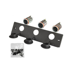 RAM 12 Volt Lighter Receptacle Faceplate (RAM-FP2-CIG3) - Mounts Asia Pacific - RAM Mounts Asia Pacific