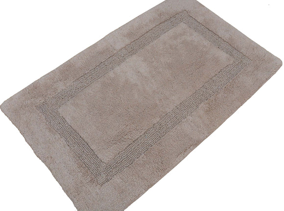 Set of 2 Bath Rugs - 100% Cotton 21