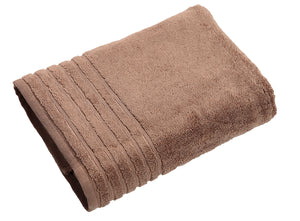 CYBER MONDAY MEGA SALES SIENA (PACK OF 2) Plush Bath Towels - 30 by 56 Inches (Bath Sheet) Taupe (Beige) Color Made From Zero Twist Cotton For Extra Comfort By Trendsetter Homez