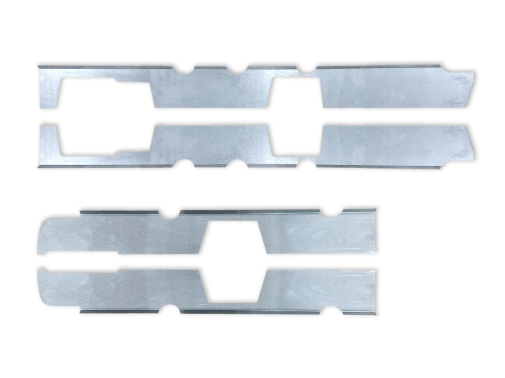Quick Brackets For Inner Rockers- 1999-2006 Silverado/ Sierra Crew Cab