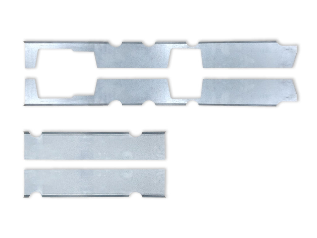Quick Brackets For Inner Rockers- 1999-2006 Silverado/ Sierra Extended Cab