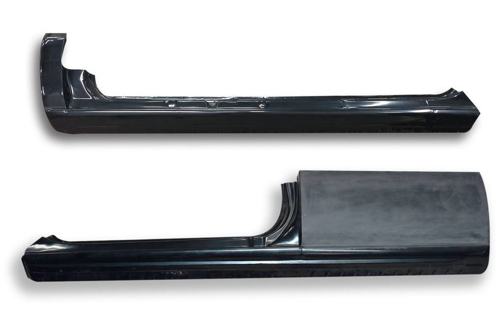 1999-2006 Silverado/Sierra Extended Cab 3-Door, Slip On Rocker Panel + Cab Corner Cover