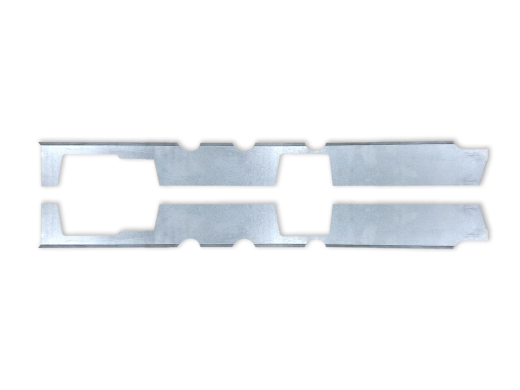 Quick Brackets For Inner Rockers - 1999-2006 Silverado/Sierra Single Cab