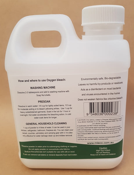 Oxygen Bleach Sodium Percarbonate