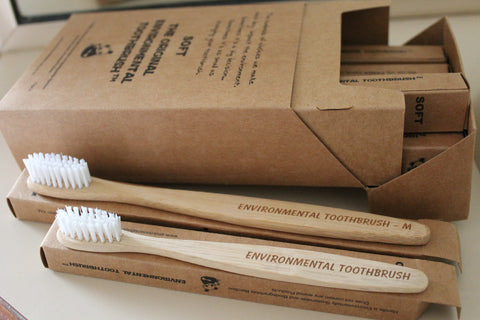 The Environmental Bamboo Toothbrush - Biodegradable