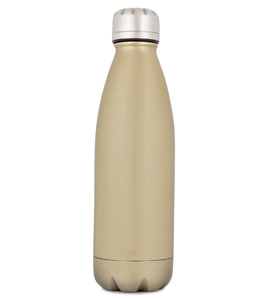 Insulated Stainless Steel Drink Bottle - Gold