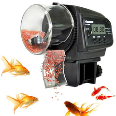 Auto Fish Feeder (w/Adjustable Settings)