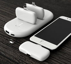 Portable Power Bank with 3 Charging Packs