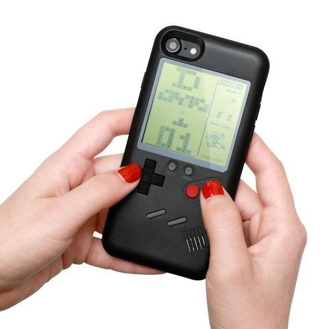 Gameboy IPhone Case With Retro Video Games