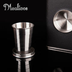 Classy Flask With Built-In Shot Glass