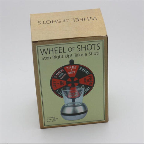 """Spin the Wheel"" Shot Drinking Wheel Game"