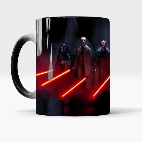 Star Wars Heat Reveal Coffee Mugs
