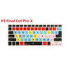 Image of Editing Shortcut Keyboard Cover for MacBook