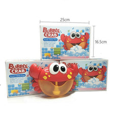 Bubble Crab Bath Toy