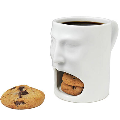 Cookie-Holding Coffee Mugs