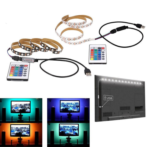 Color-Changing LED Lighting Strip for TVs
