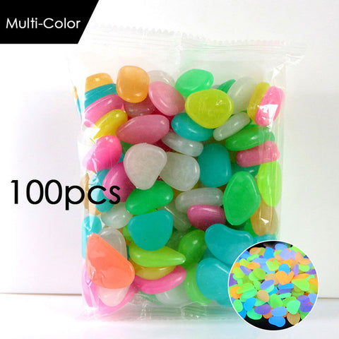 Glow in The Dark Pebble Sets (100 Pebbles)