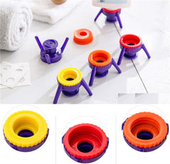 Stand-n-Squeeze Bottle Caps (6pc Set)