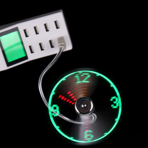 USB Spinning Light Clock