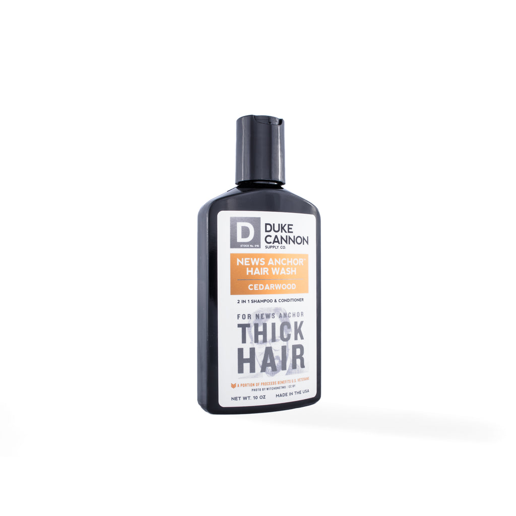 News Anchor 2-in-1 Hair Wash - Cedarwood - Duke Cannon
