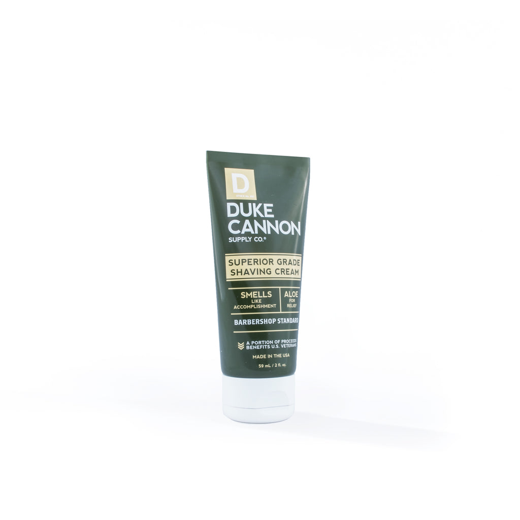 Superior Grade Shaving Cream - Travel Size - Duke Cannon