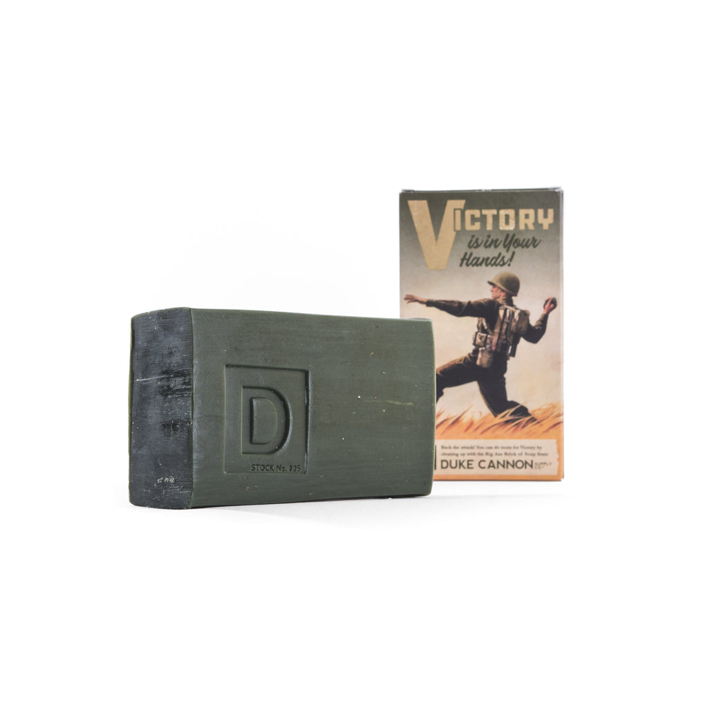 Limited Edition WWII-era Big Ass Brick of Soap - Victory - Duke Cannon