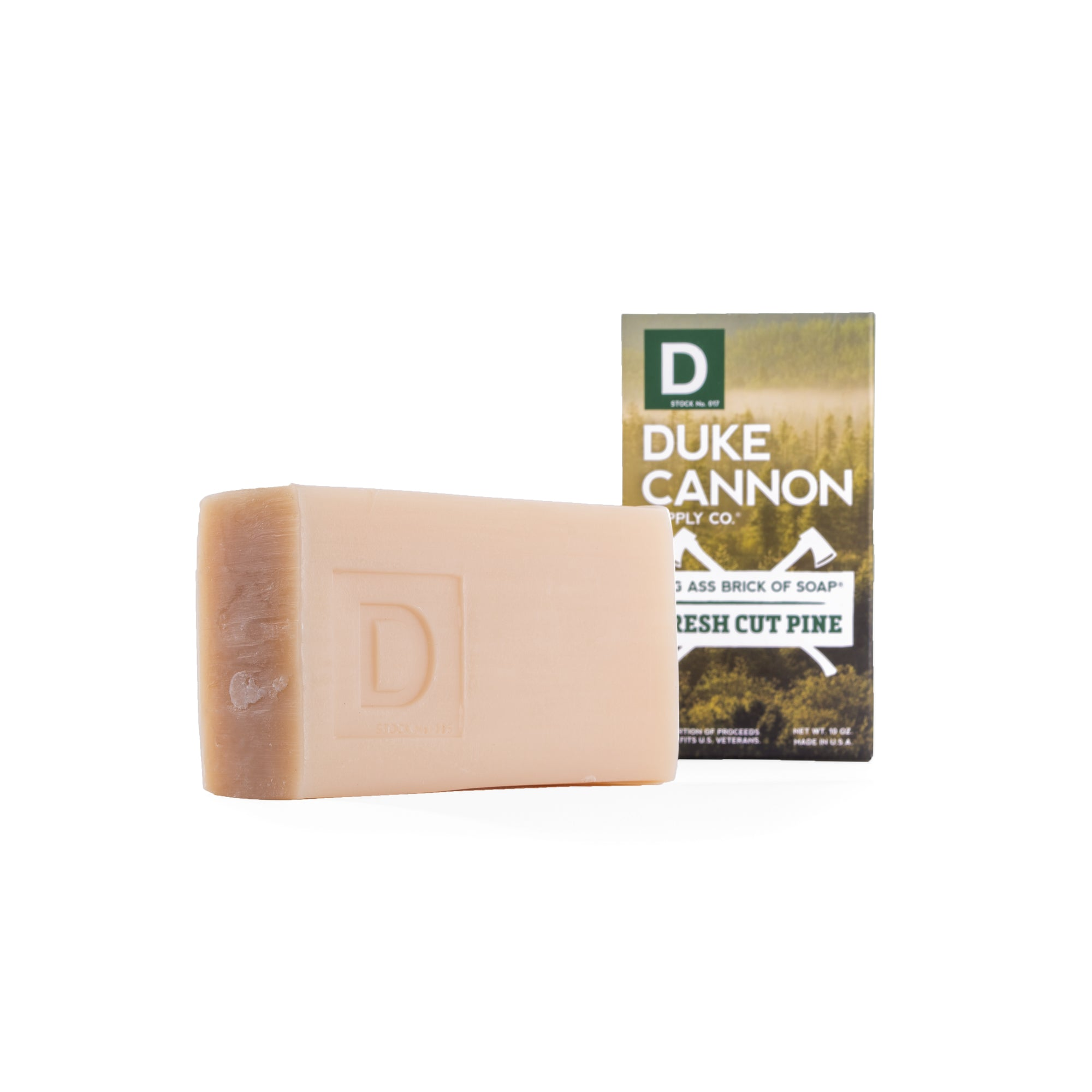 Big Ass Brick of Soap - Fresh Cut Pine - Duke Cannon