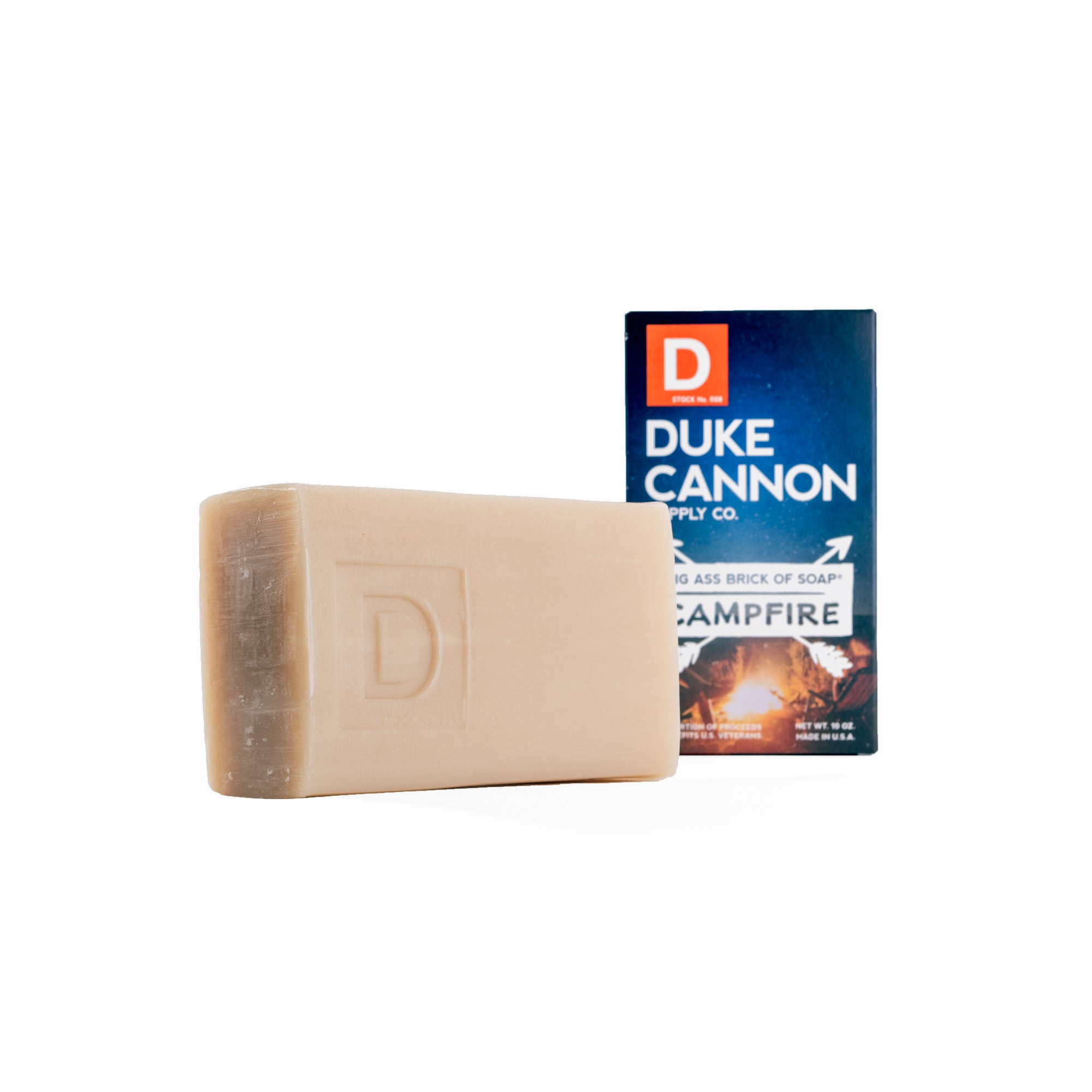 Big Ass Brick of Soap - Campfire - Duke Cannon