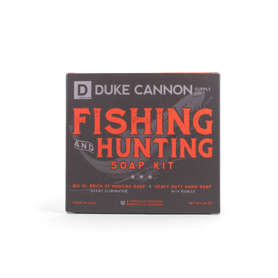 Hunting + Fishing Soap Kit - Duke Cannon