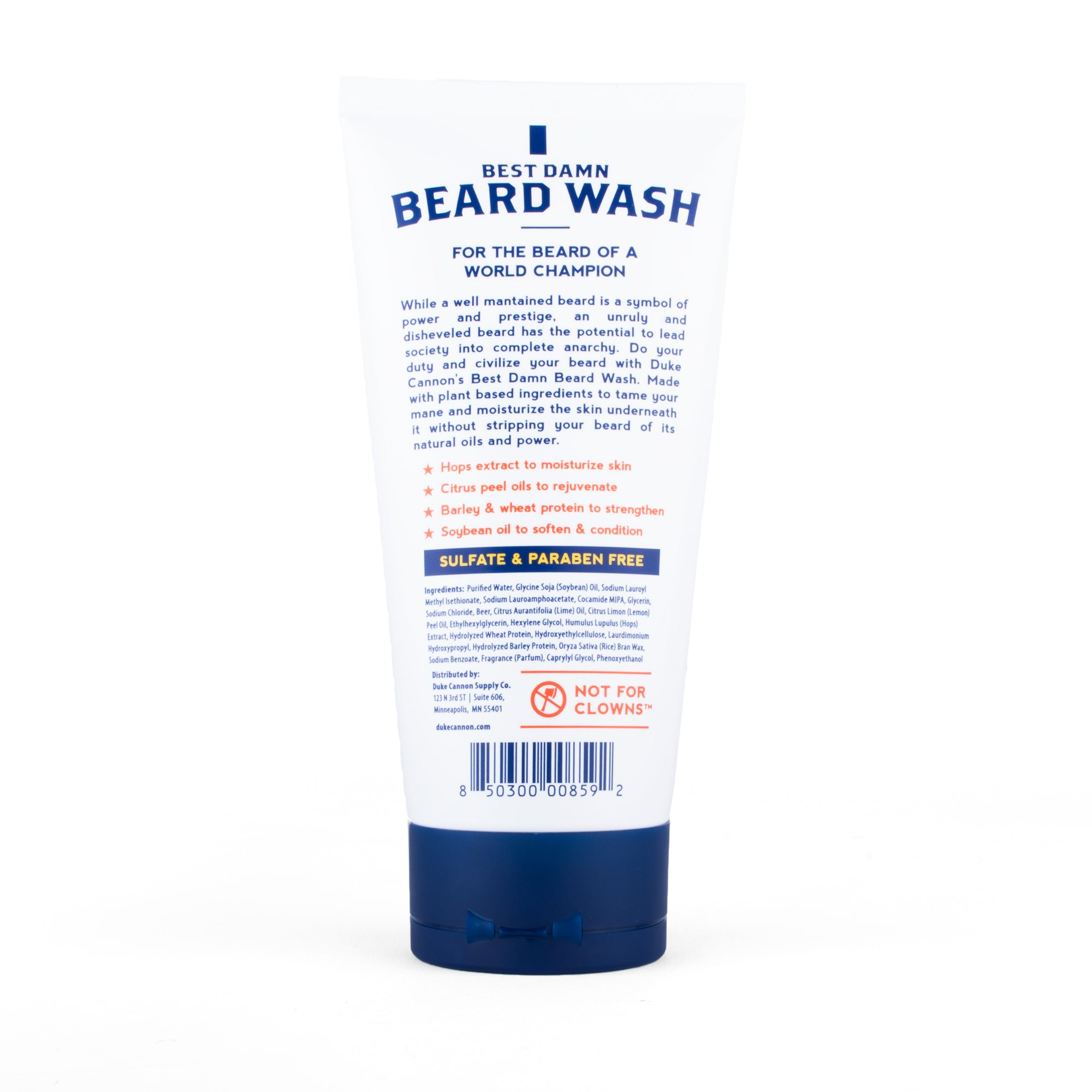 Best Damn Beard Wash - Duke Cannon