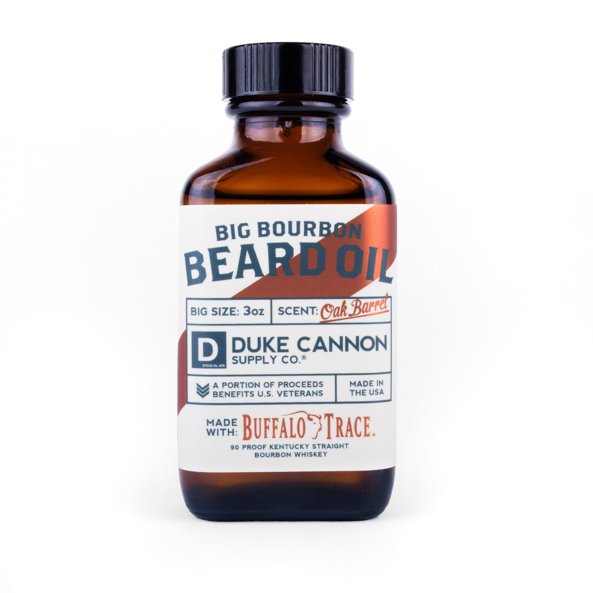 Big Bourbon Beard Oil - Duke Cannon