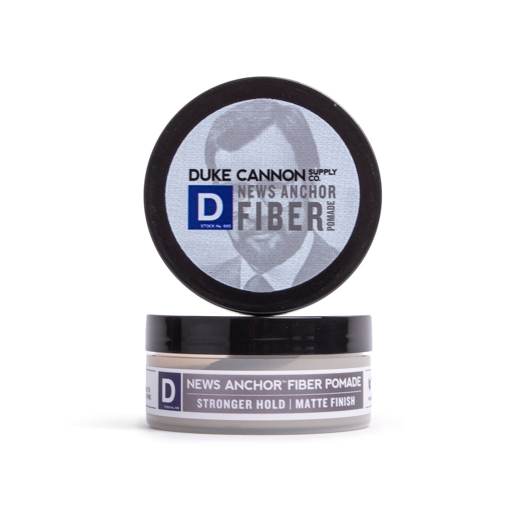 News Anchor Fiber Pomade - Travel Size - Duke Cannon