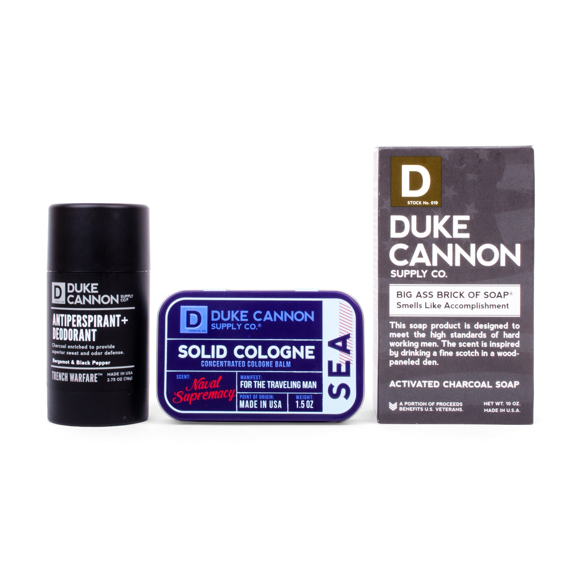 "The ""Modern Man"" Triple Play - Duke Cannon"
